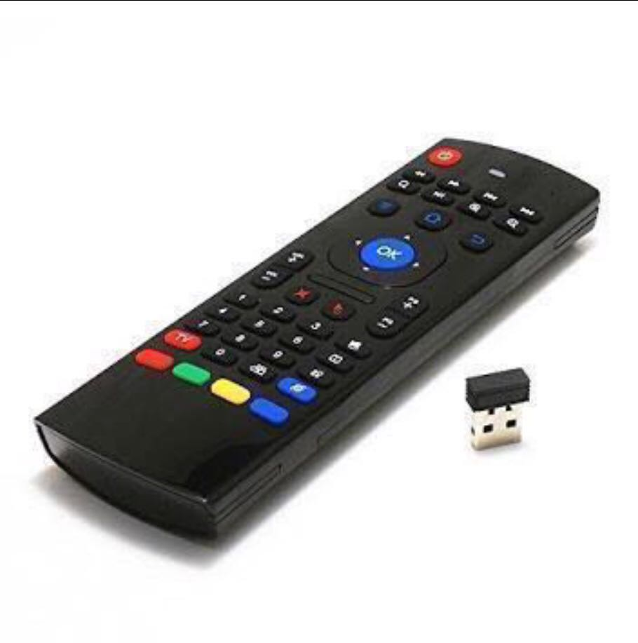 c834e393073 Air Mouse MX3 Mini Wireless Keyboard for Support Smart Tv, Android ...