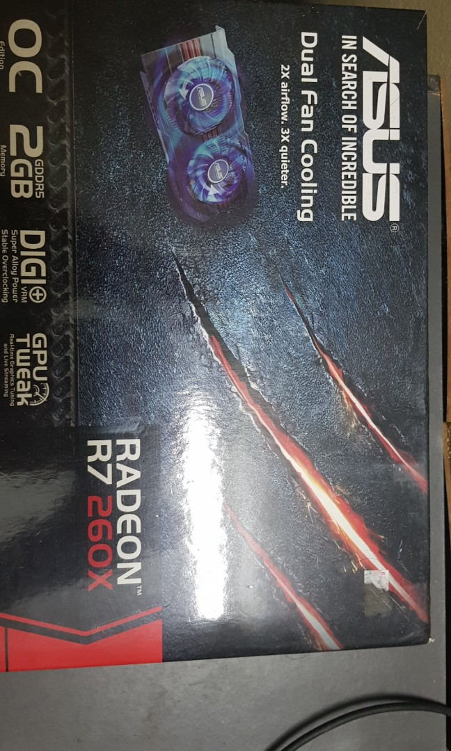 AMD Radeon R7 260X 2gb DDR5 OC Edition