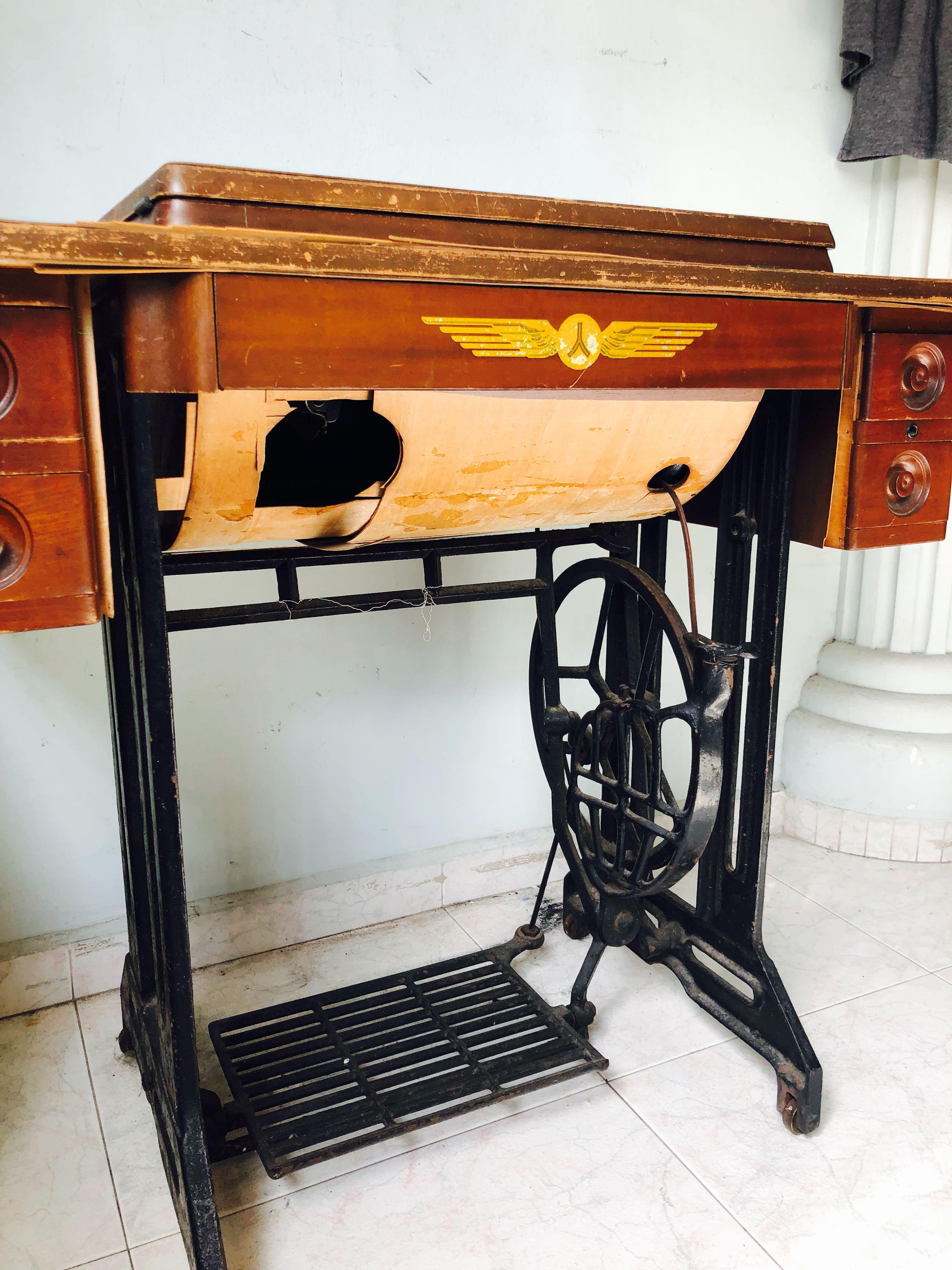 Antique Sewing Machine Furniture