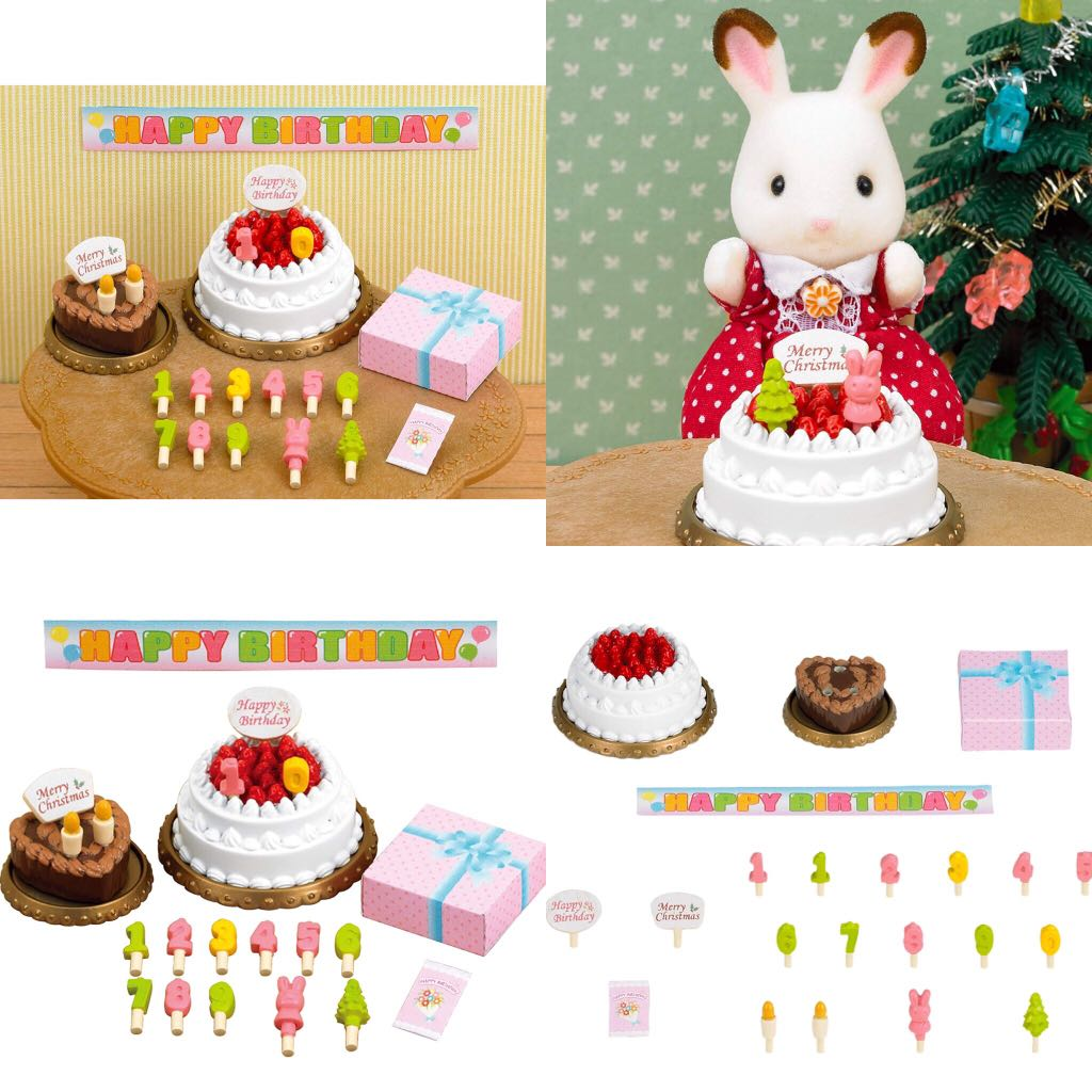 Superb Furniture Birthday Cake Set Ka 416 Sylvanian Families Japan Personalised Birthday Cards Paralily Jamesorg