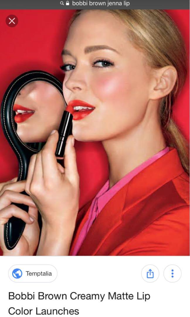 Bobbi Brown Creamy Matte Lip Color No.2 Jenna