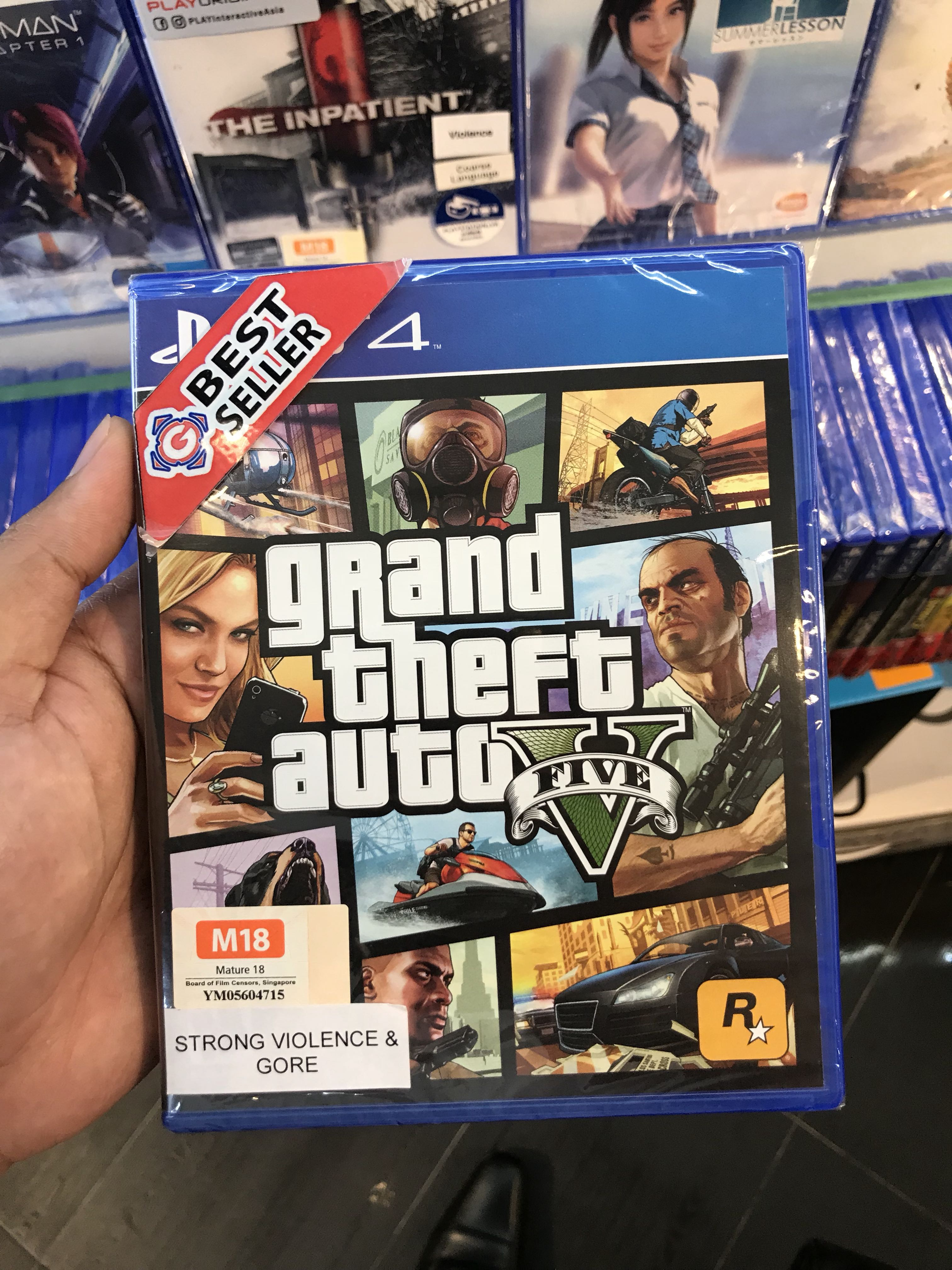 Brand new GTA 5 for PS4!