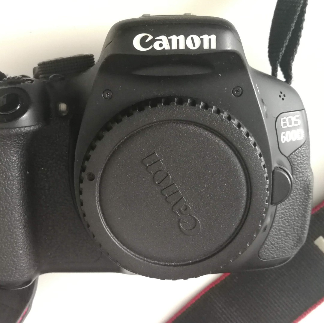Canon 600D with three Lenses and box
