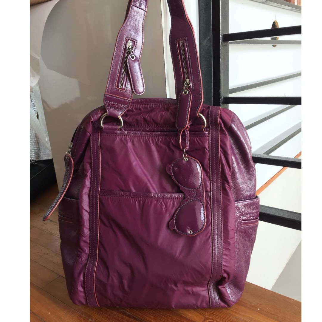 f573c83e8 Chloé See By Chloe Sunglass Large Shoulder Tote Bag (Purple), Luxury ...