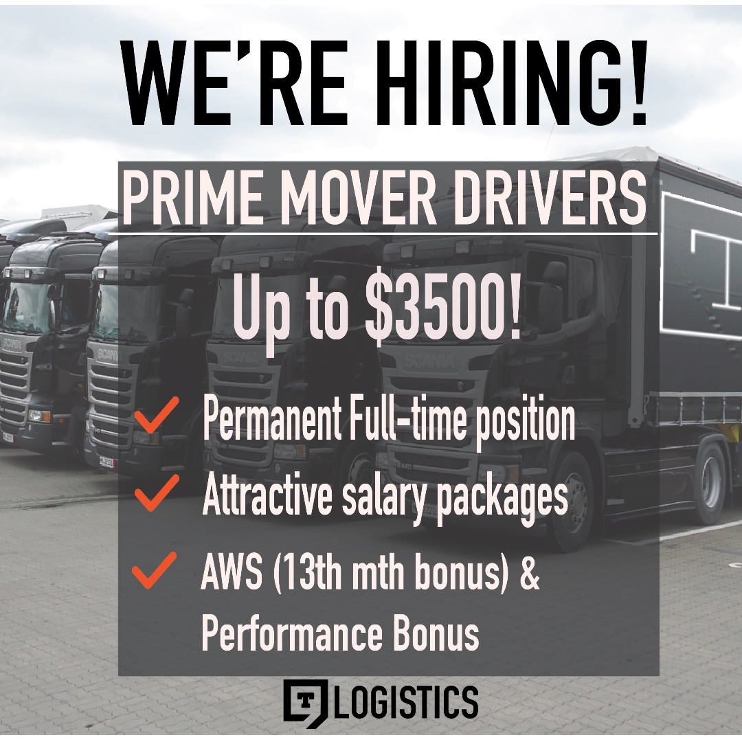 Class 4/Prime mover drivers wanted!