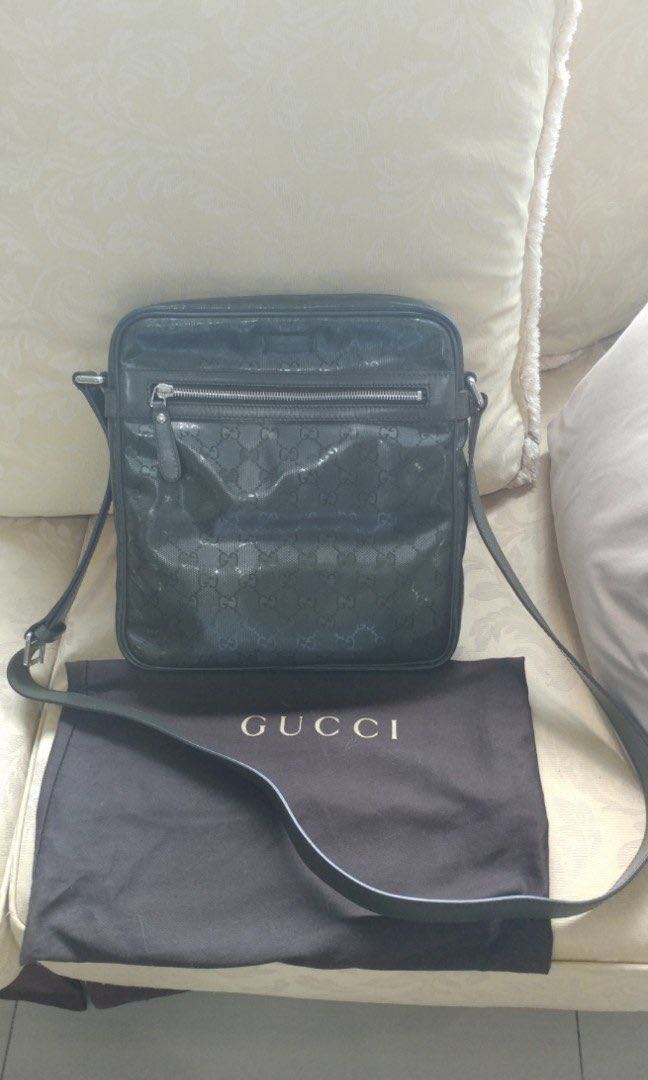 731e35f672 Gucci Olive Green Messenger Bag