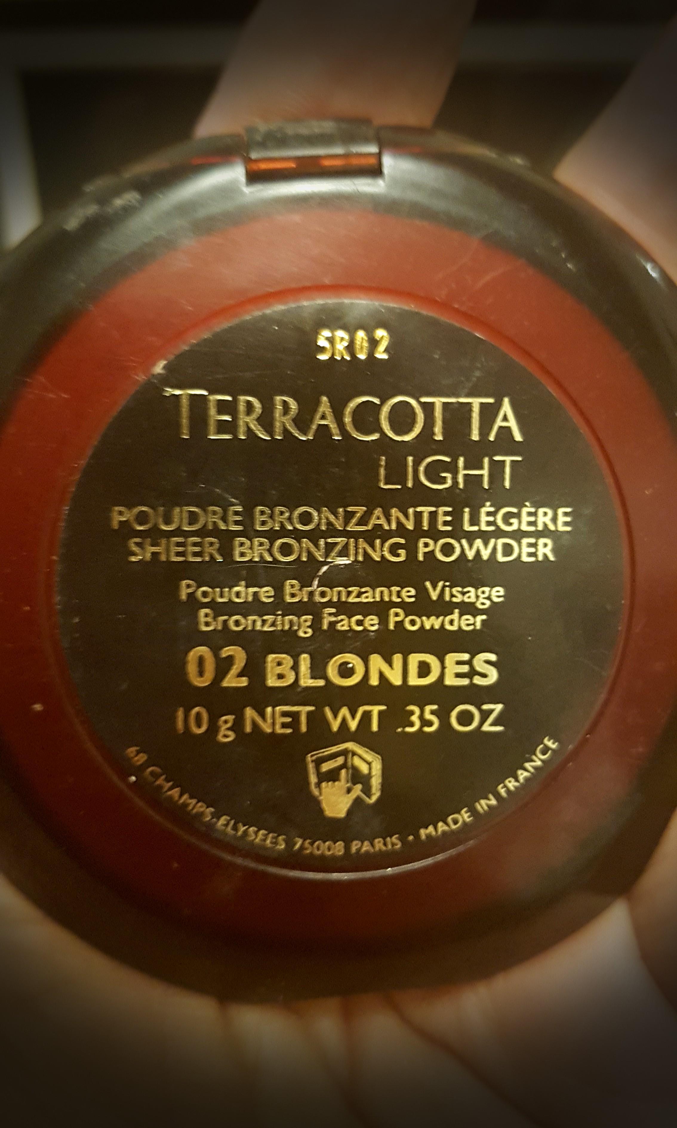 Guerlain Terracotta light bronzer 02 blondes