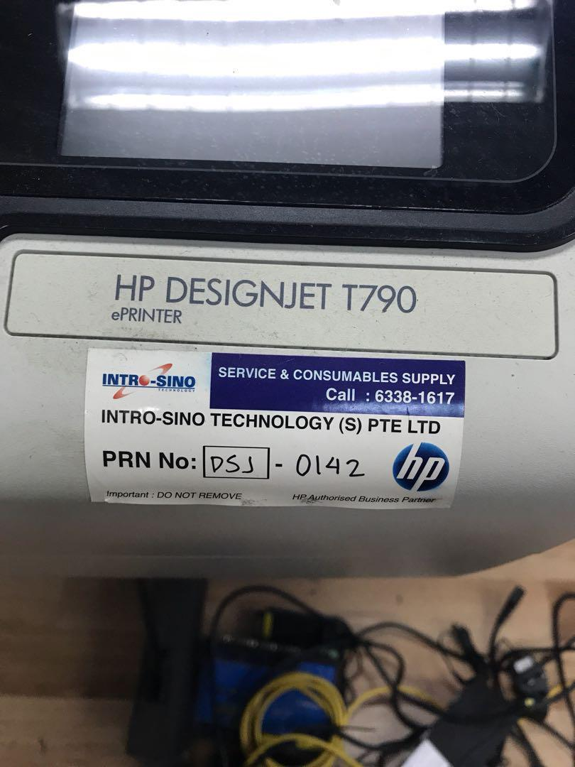 HP Designjet T790, Electronics, Computer Parts & Accessories