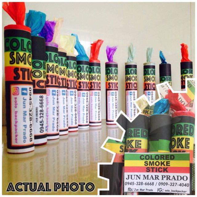 Imported Colored Smoke Sticks / Smoke Bombs on Carousell