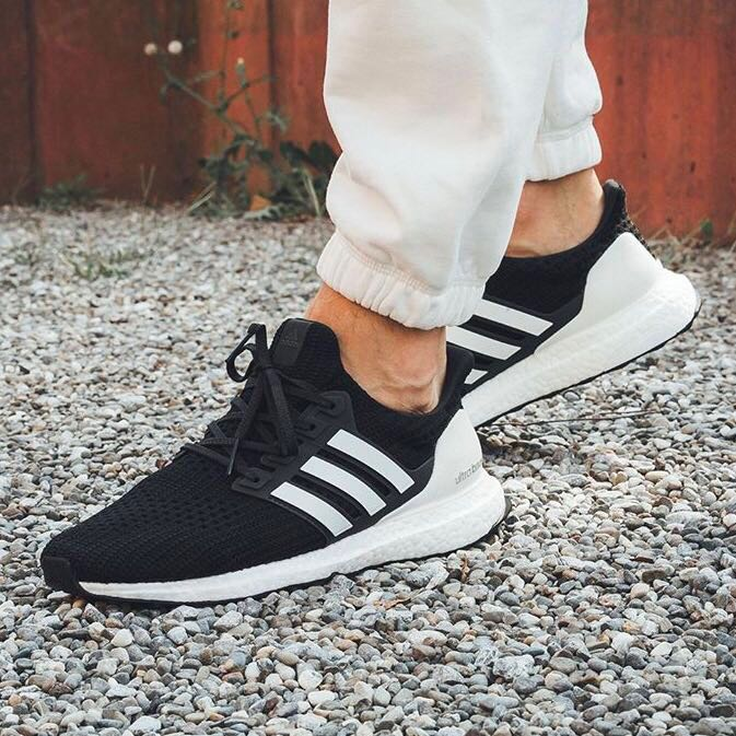881839212d46c Instock Adidas UltraBoost 4.0 Show Your Stripes Black Could White ...