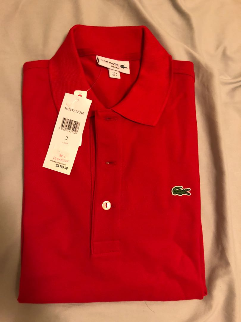 6efbacfc925c Lacoste Polo Tee, Men's Fashion, Clothes, Tops on Carousell