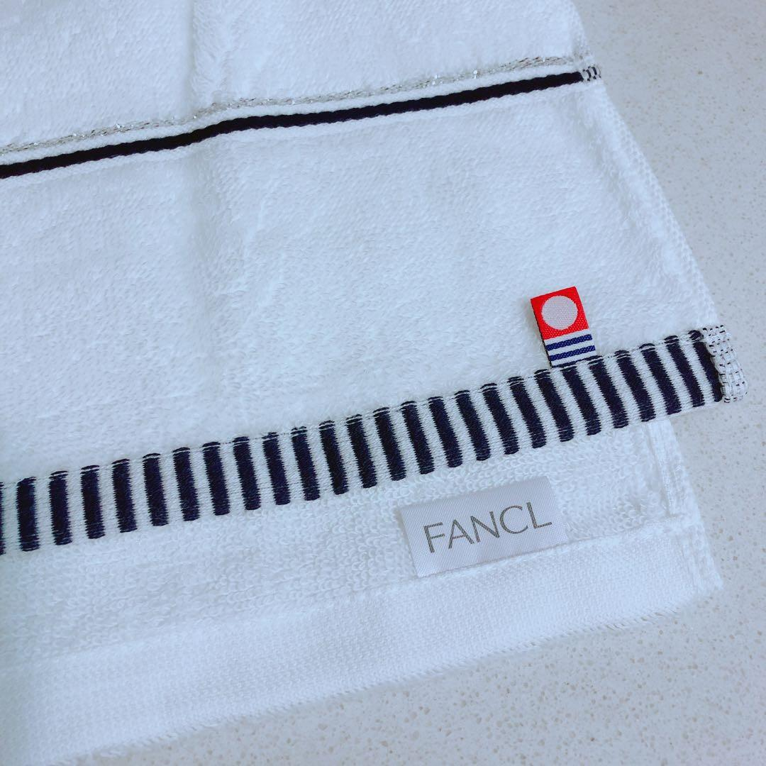 [Made in Japan] Imabari Fancl pure white long towel about 34x75CM