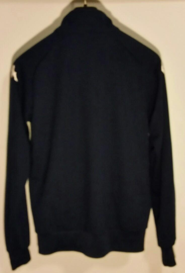 New Ex Demo Blue Kappa Soccer Jacket Mariners Sz S Bargain!!