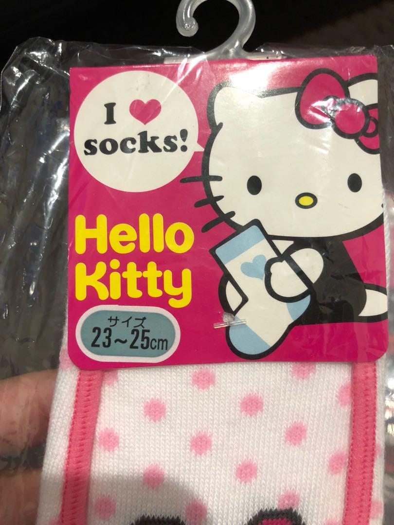 New Socks hellokitty from japan