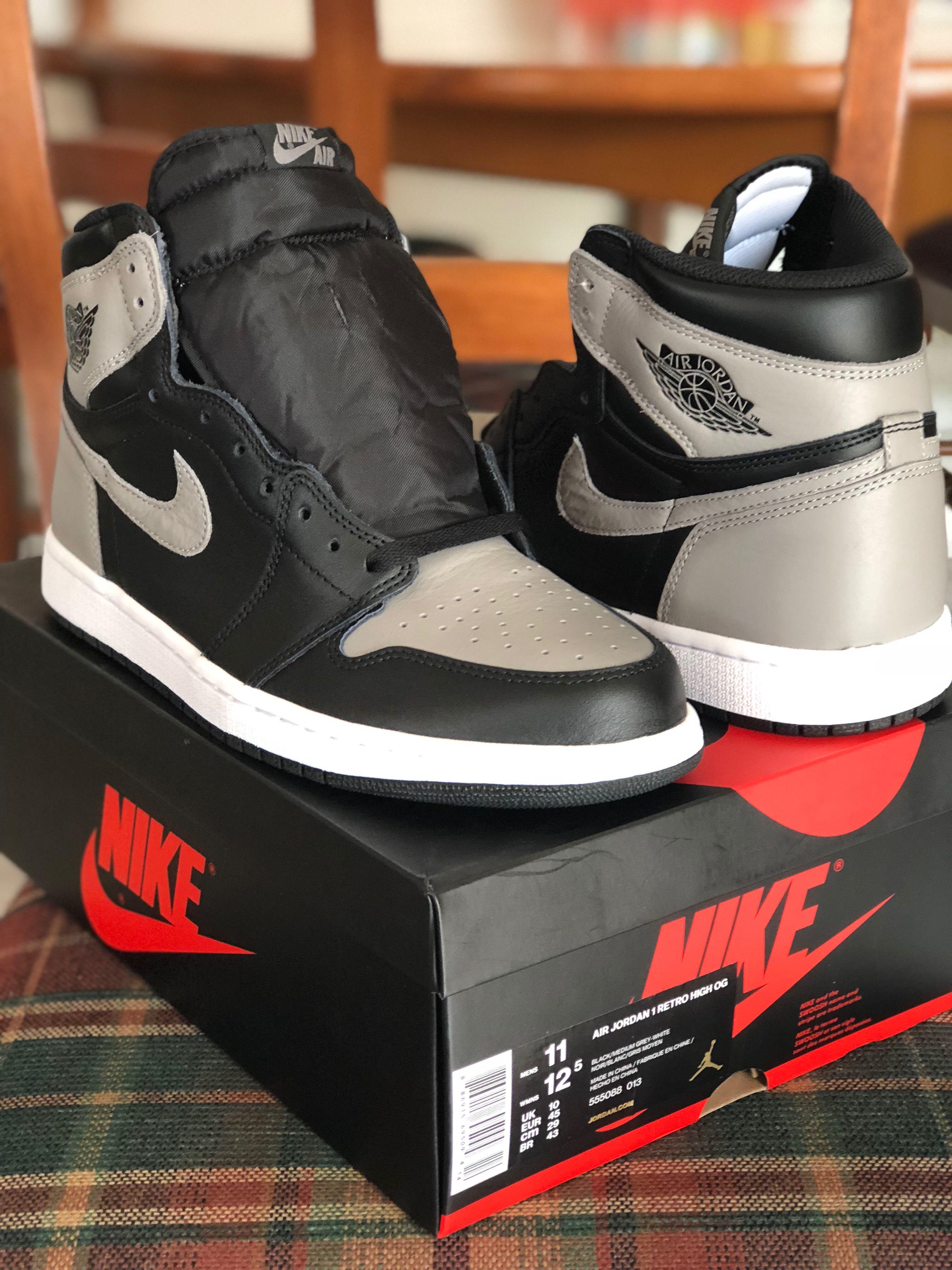 watch 7526e 87082 Nike Air Jordan 1 Shadow, Men s Fashion, Footwear, Others on Carousell