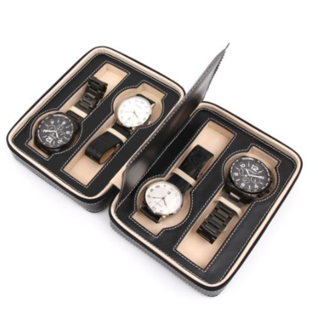Popular Travel Case Pouch For 4 Watch