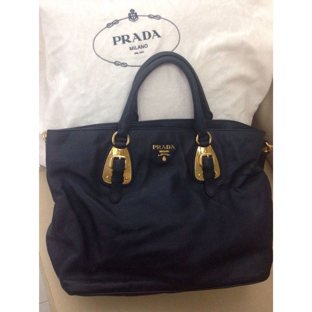 0b210b1c97829d PRADA BN1902 Soft Calf LEATHER Bag, Luxury on Carousell