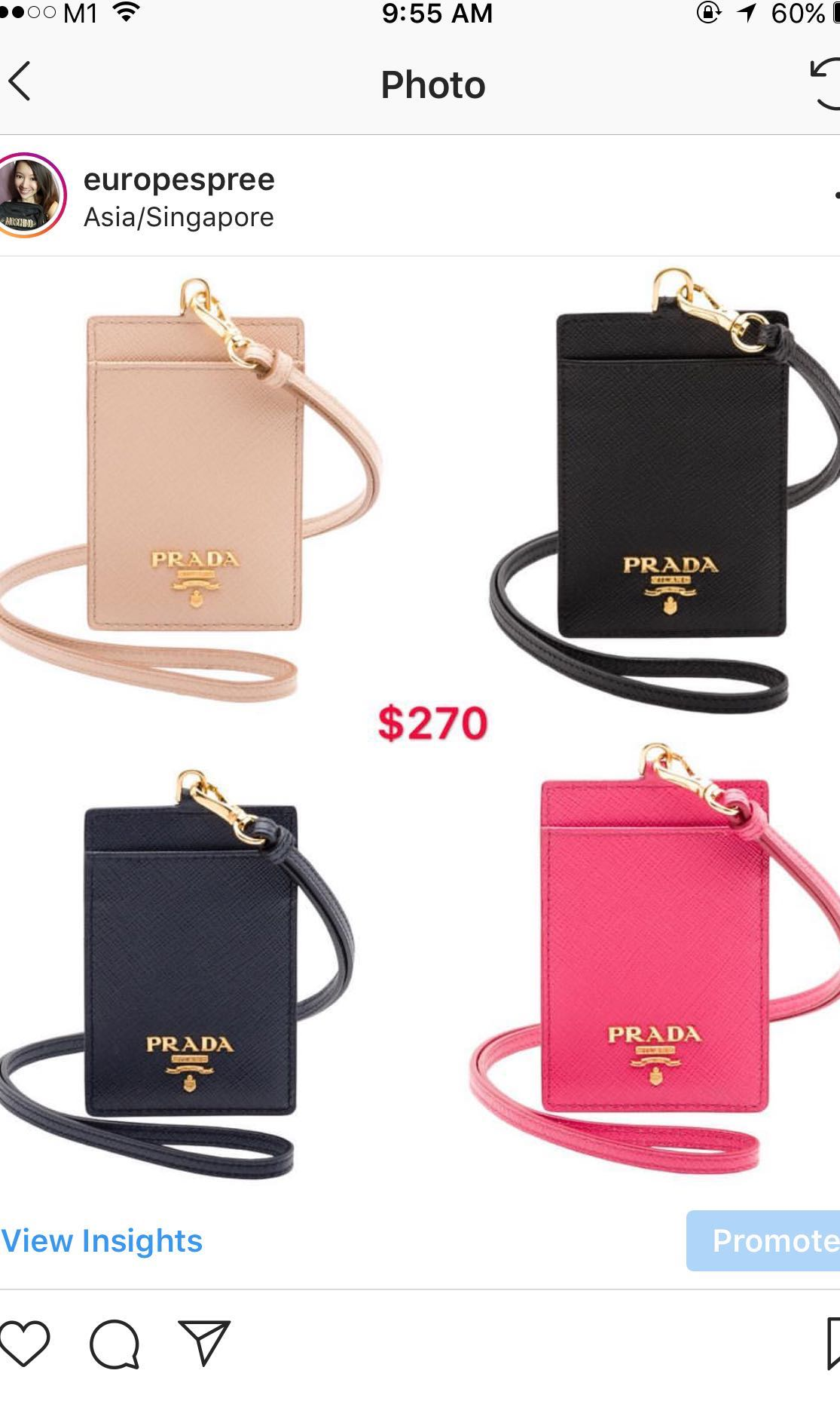 576e43e85d66 purchase saffiano leather crossbody bag prada d7c9a d3ce8; spain prada  lanyard womens fashion bags wallets others on carousell 05fe5 eee70