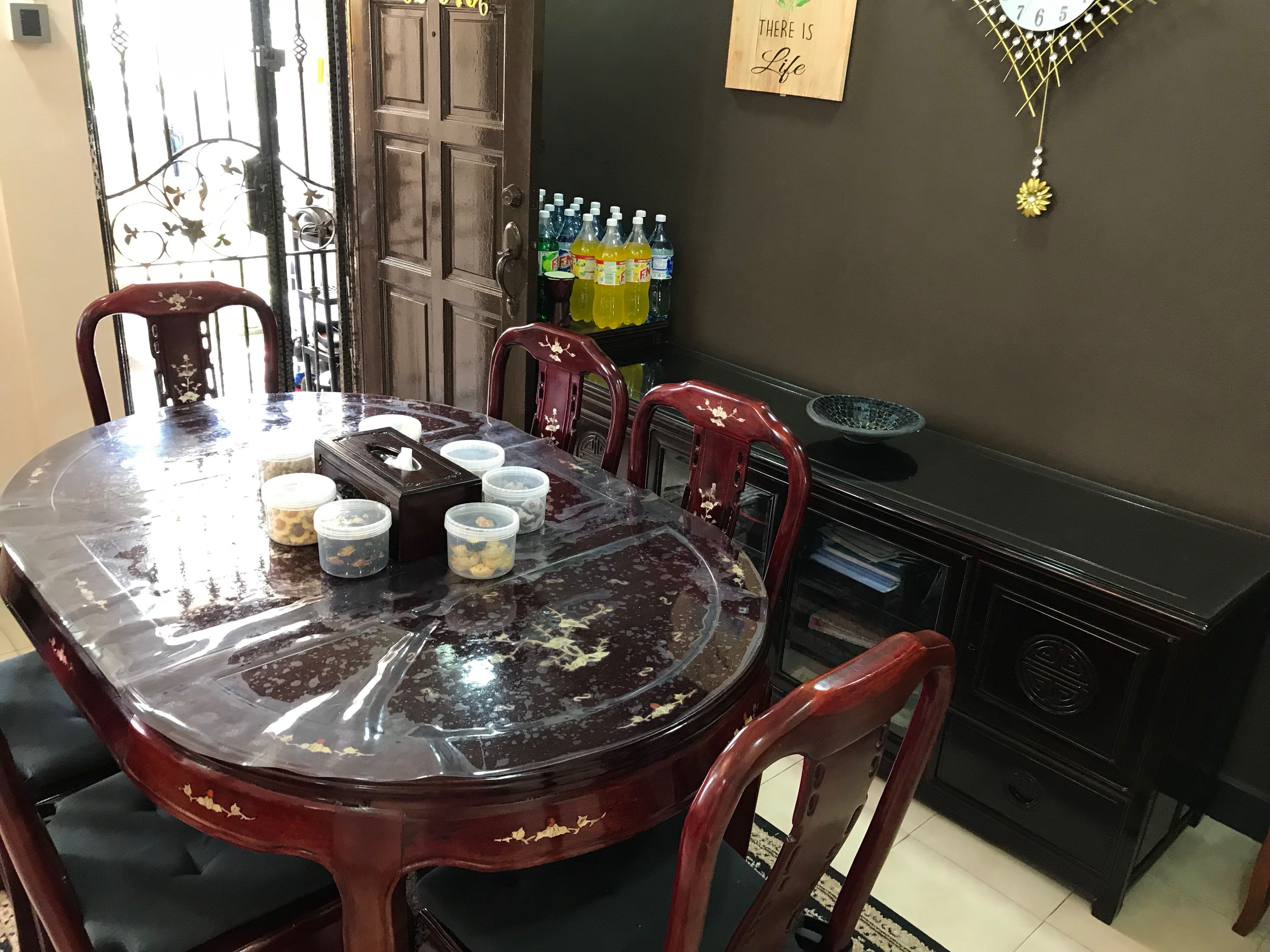 Pre Loved Rosewood Dining Table For Sale Furniture Tables