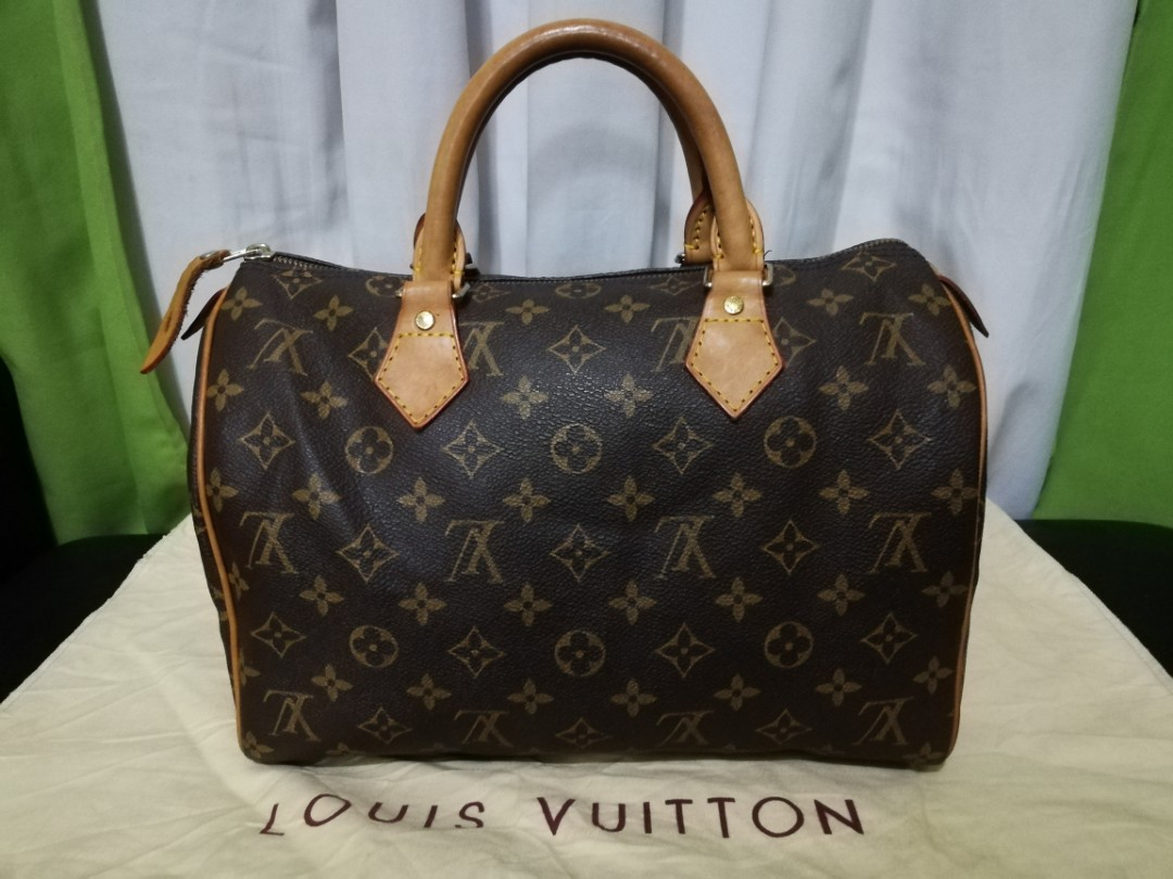 Pre-owned Louis Vuitton Monogram Speedy 30 SP0964 d85971752