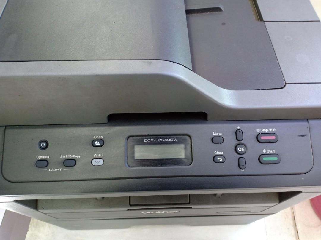 Printer Brother Dcp L254odw Scaner Fotocopy Elektronik Toner Bekas Tn 2356 Bagikan Barang Ini