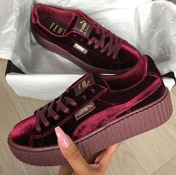 best sneakers 1bbdc 3b10c Puma velvet creepers collection, Women's Fashion, Shoes ...