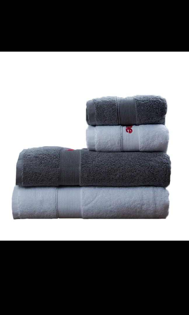 SUPREME TOWEL COTTON FACE STREET DANCE SPORTS FITTNESS/BATH TOWEL HOME ADULT COUPLES SOFT WATER ABSORPTION