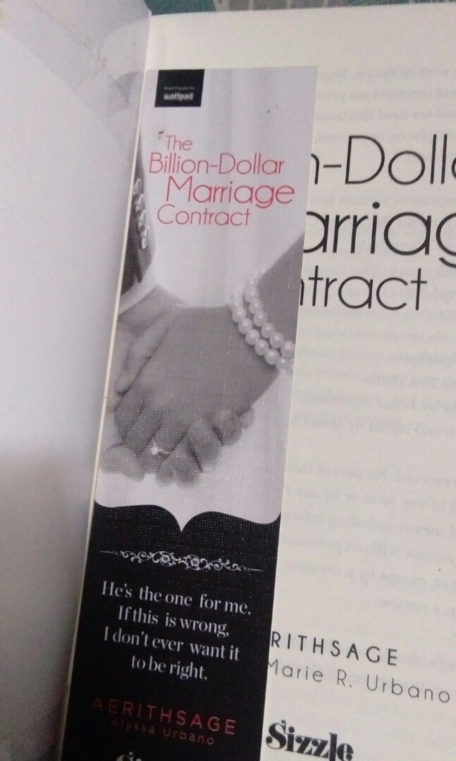 the billion dollar marriage contract epub free download