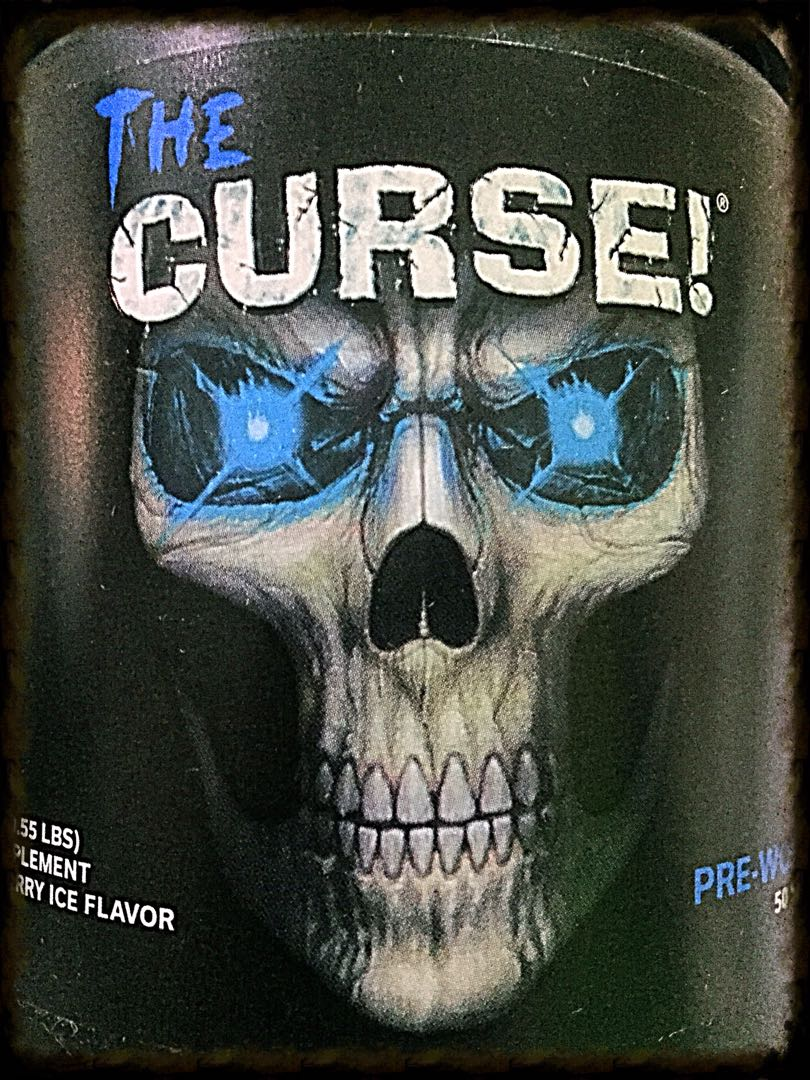 Curse Pre Workout Work Out The Exercises Cobra Labs And Weight Lifting Sports Weights Equipment On Carousell
