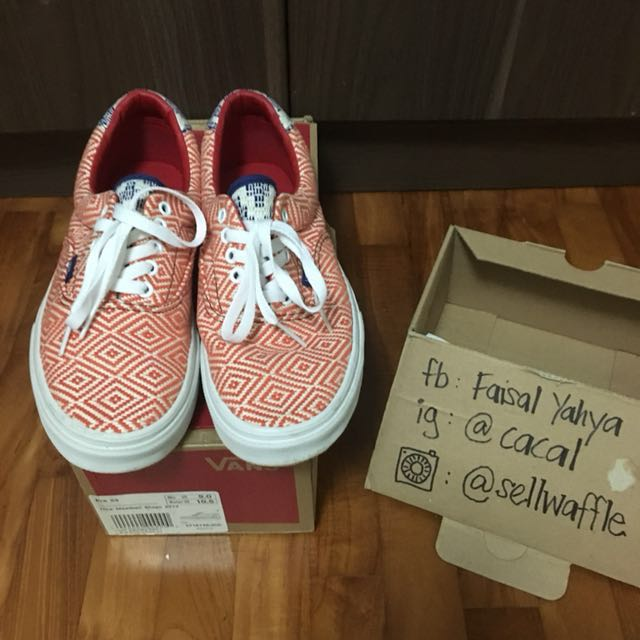 35e3755baf The Meatball Shop x SHUT Skateboard x Vans Era Size 9.5 Used