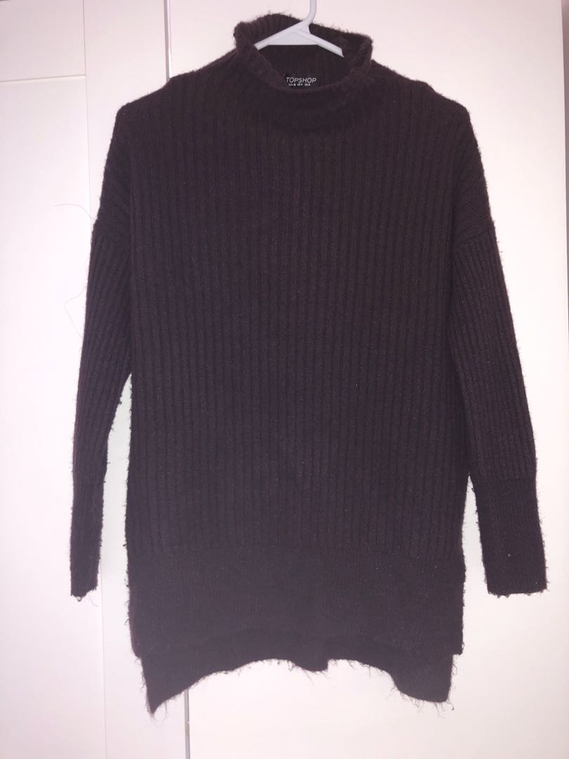 TOPSHOP size US 4 Purple Sweater