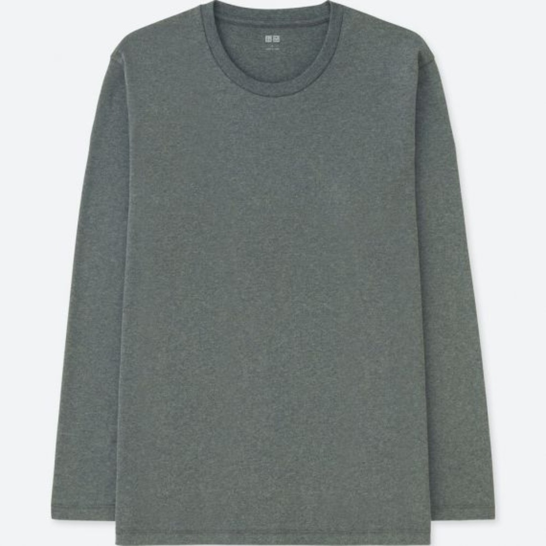 05aebdbff22034 Uniqlo Long sleeve Shirt, Men's Fashion, Clothes, Tops on Carousell