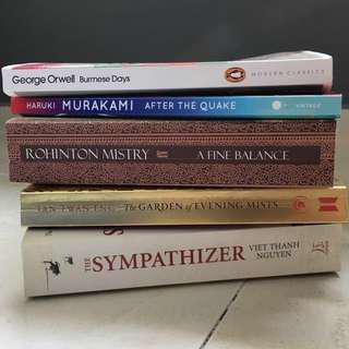 ENGLISH LITERATURE TEXTS: Asian Historical Fiction (NTU HL2041)