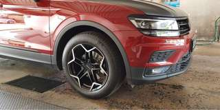 "17"" Petrol Wheels ( with tyres)"
