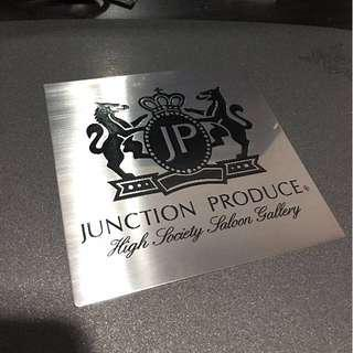 Junction Produce Metal Plate VIP JDM