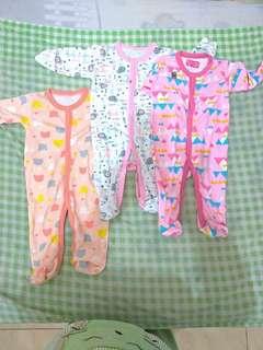 Sleepsuit merek LIBBY usia 3-6 bln