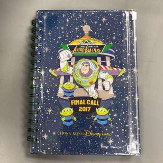 (絕版最平)香港迪士尼會員限定 巴斯光年 Farewell 筆記本