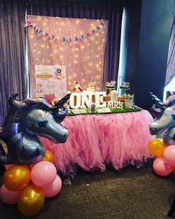 Affordable dreamy Birthday decoration