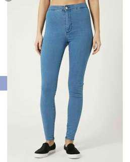Topshop Mid-stone joni jeans
