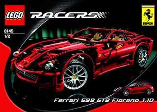 Lego 8145 Ferrari 599 Fiorano