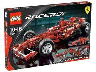 Lego 8674 Ferrari F1.