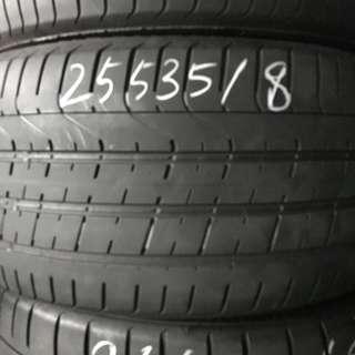 255/35R18 Pirelli P Zero