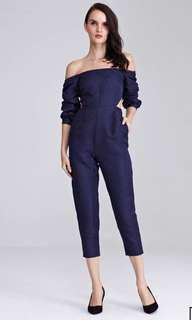 $29 mailed jump suit in navy