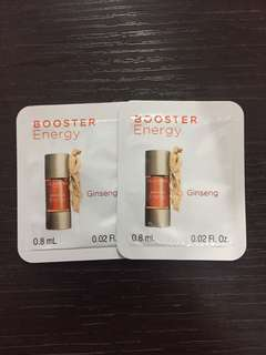 Clarins Booster Energy x 2pcs