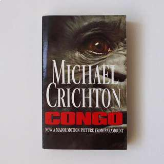 Novel Impor Congo (Michael Crichton)