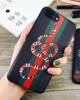 iPhone 7 Plus / 8 Plus Gucci Snake Case Cover