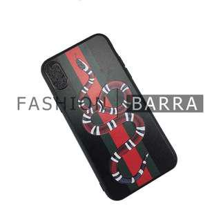 Iphone X Gucci Snake Case Cover