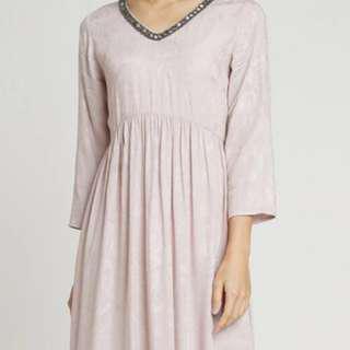 Minimal Jaquard loose dress