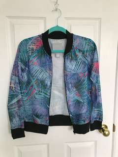Palm tree jacket from Aeropostale