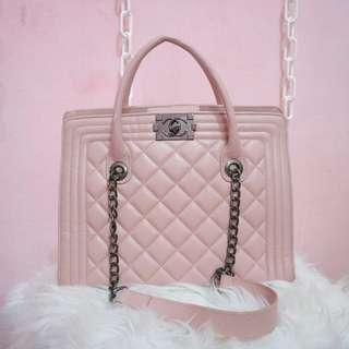 Pink chanel premium